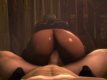 Dark Elf Slut with Big Juicy Ass - POV 3D Hentai