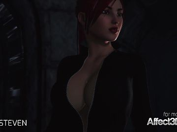 3d animation moster sex with a red head large boobs woman
