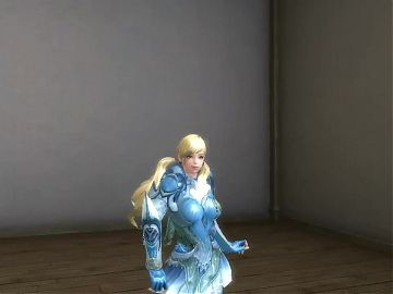 3d aion blondie sexy dance