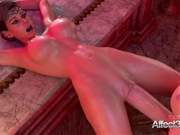 Hot 3d babes having futa sex