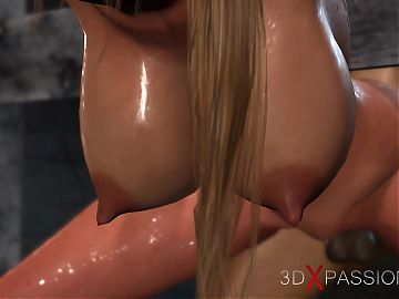 3d dickgirl teacher screws a attractive college girl in the dungeon
